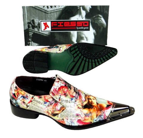 New Fiesso Men's Lady Magazine Shoes FI 6794