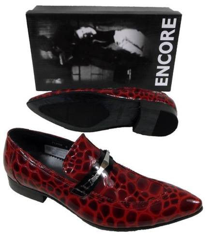 New Encore Red Print Shoes FI 3098