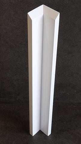 0007. Ashby Matt 18 mm Slab Internal/External Corner Posts - Made to Measure and Paint to Order