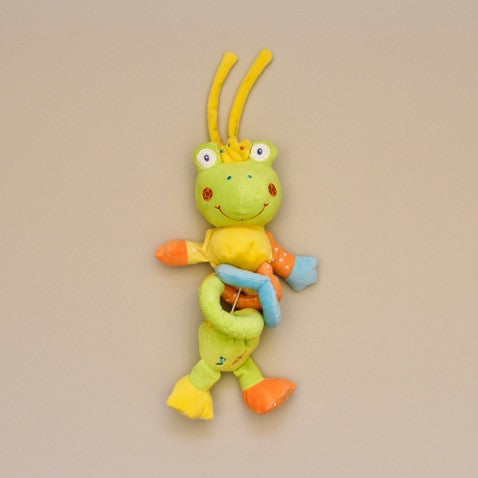 Baby Musical Pull Hanging Toy Frog