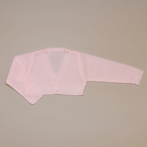 Pink Baby Knit Cardigan Sweater