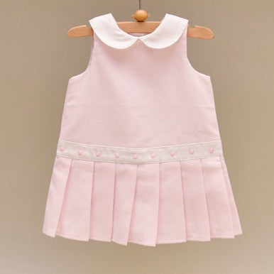 Pink Baby Pique Dress