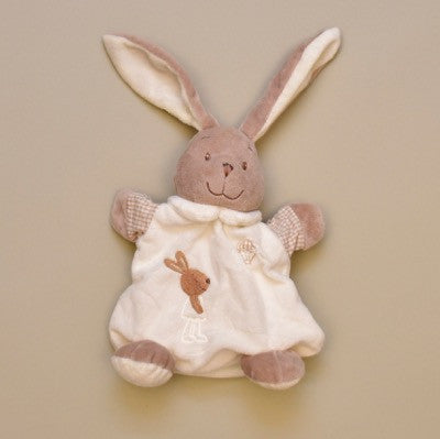Soft and Cuddly Round Bunny Rabbit Rattle