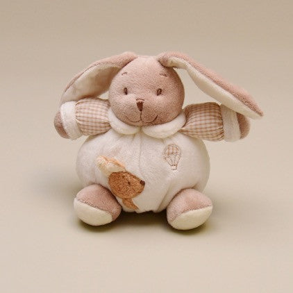 Chubby and Cuddly Bunny Rabbit Rattle