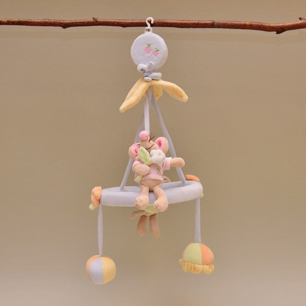 Musical Baby Mobile in Soft Pastel Colors