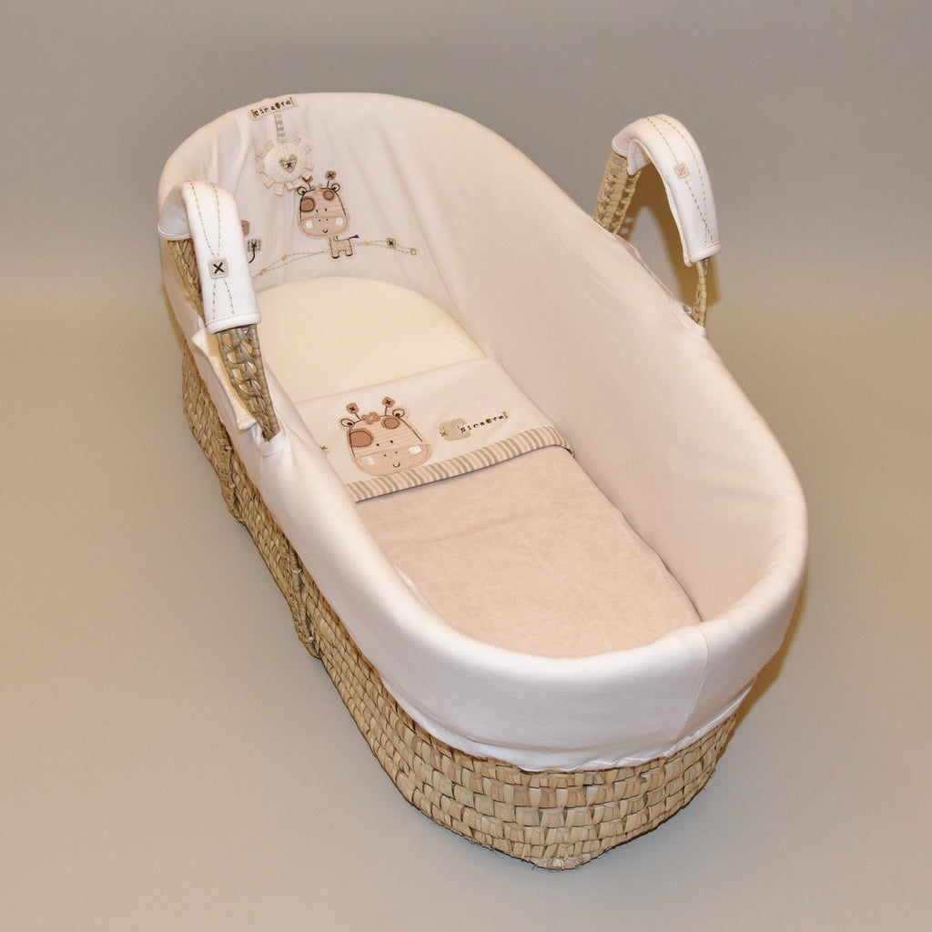 Sleepy Safari Moses Basket
