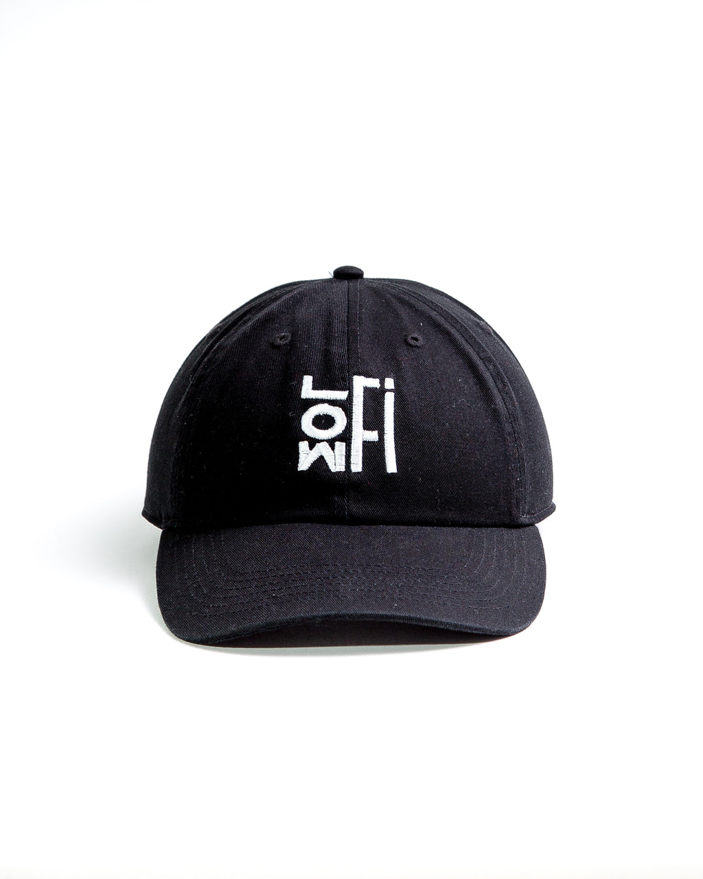 LOWFi Dad Hat (Black)