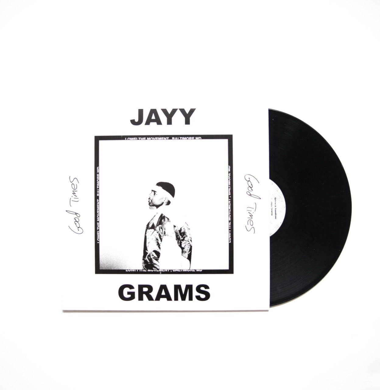 Jayy Grams Vinyl + T-Shirt Bundle