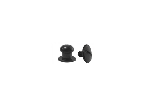 Mini Button Head Stud & Screw Black Oxide