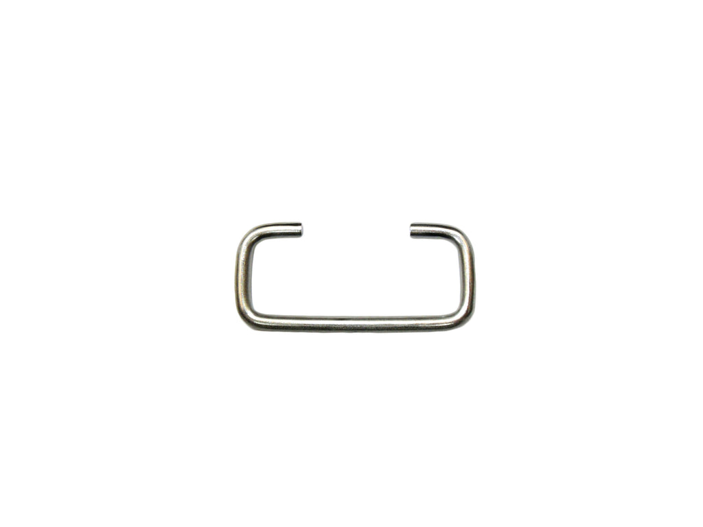 Stainless Steel Loop, Ends In