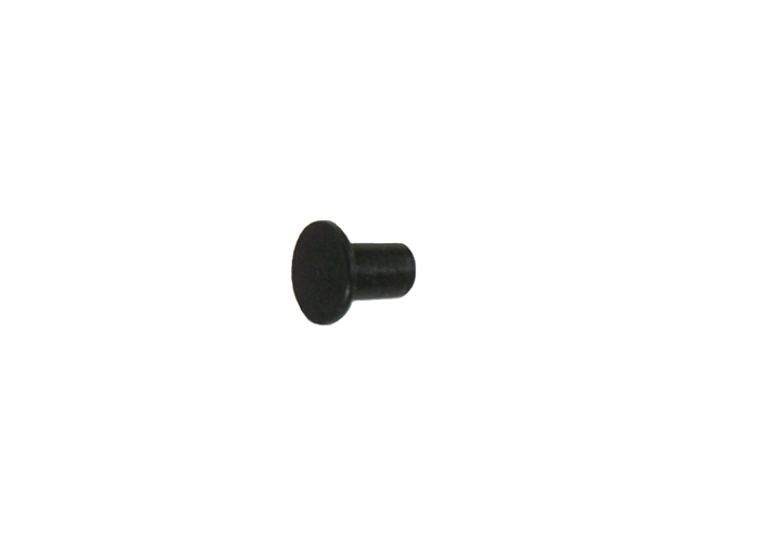 "1/4"" 6.3MM Mini Chicago Post Black Oxide"