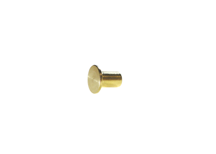 "3/16"" 4.7MM Mini Chicago Post Solid Brass"