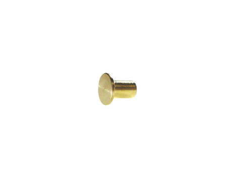 "1/2"" 12.7MM Mini Chicago Post Solid Brass"