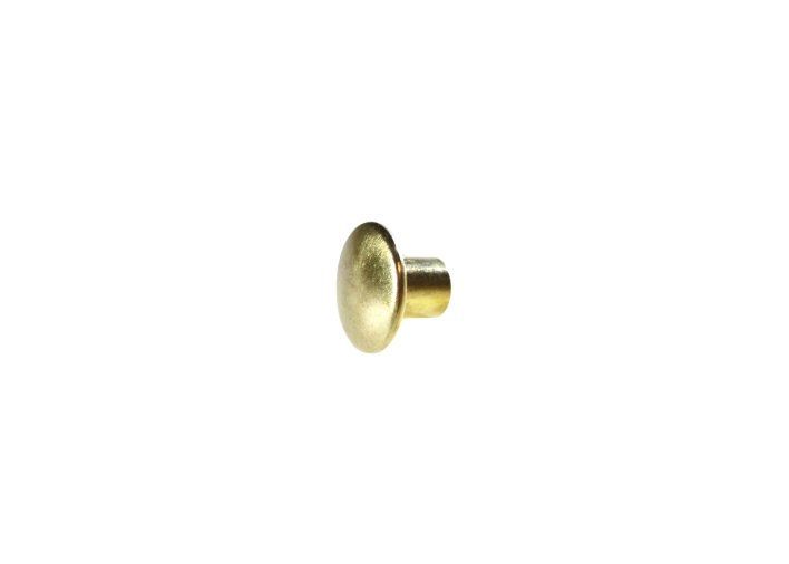 "5/8"" 15.8MM Chicago Post Solid Brass"