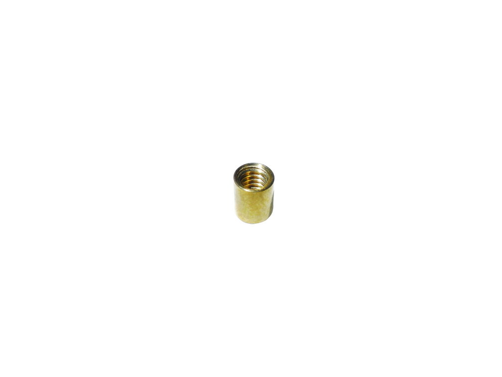 "1/4"" 6.3MM Screw Back Headless Post Solid Brass"