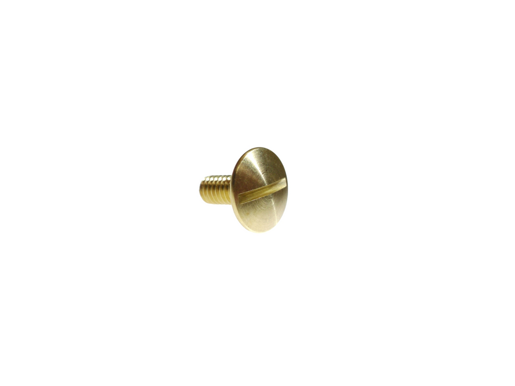 "1/8"" 3.1MM Chicago Screw Solid Brass"