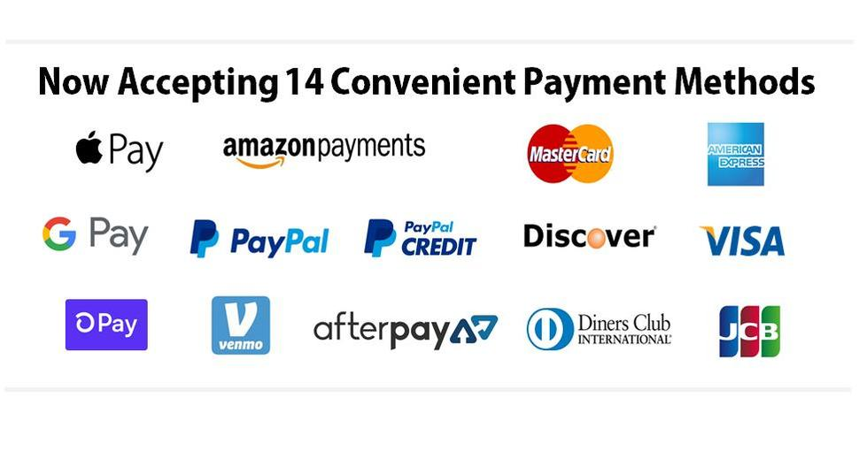 amazon google apple pay visa mastercard discover amex american express payments