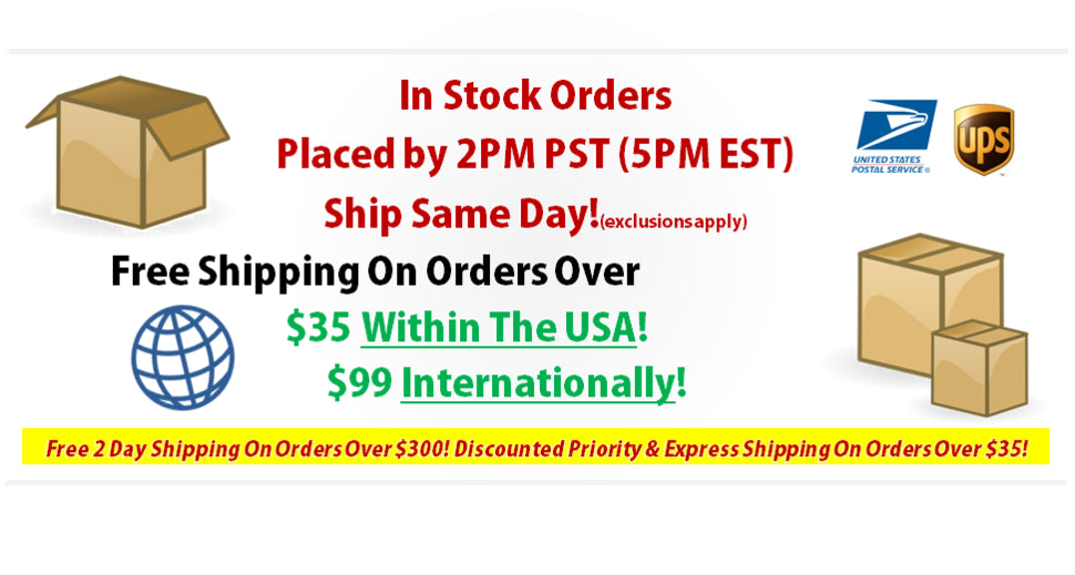 Free shipping fast delivery ups usps fedex international domestic