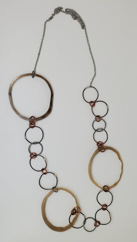 Sobho Necklace Horn Circle
