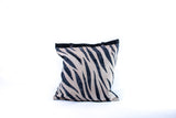 Animal print tote w/pocket