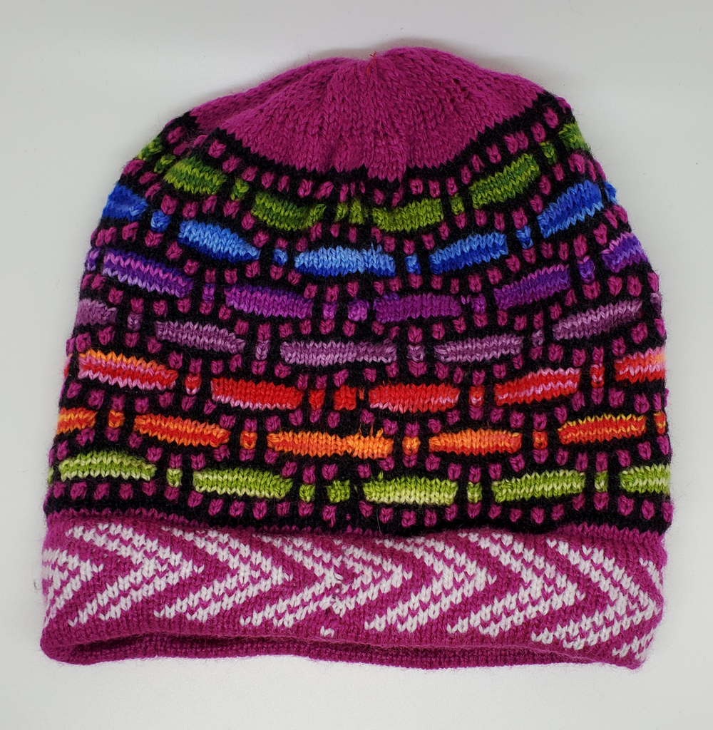 Rainbow Alpaca Hats