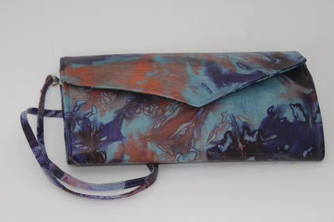 Mountain sunset purse