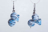 paper mache earrings