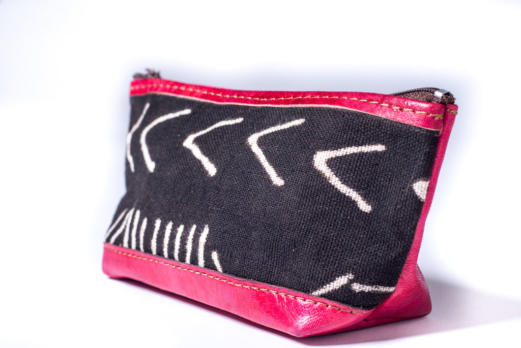 mudcloth coin purse