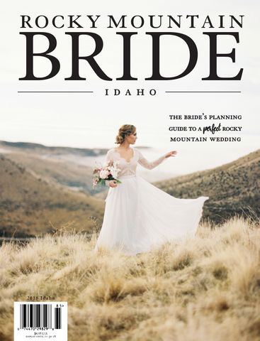 Rocky Mountain Bride Magazine Idaho 2018!