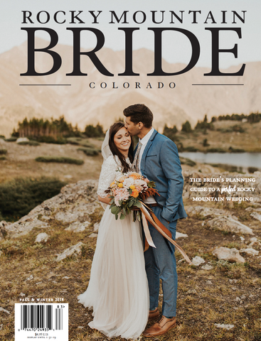 Rocky Mountain Bride Magazine F/W Colorado 2018