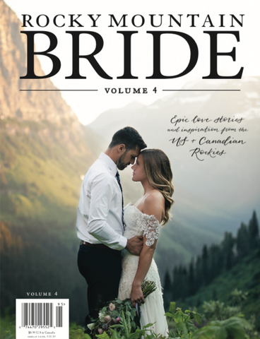 Rocky Mountain Bride Regional Magazine Volume 4