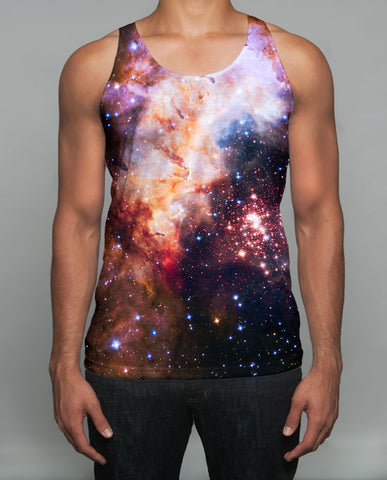 The Into The Galaxy Tank Top