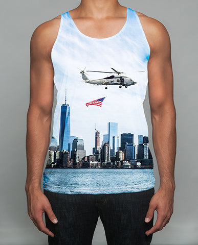 The NYC Helicopter Ride Tank Top