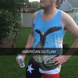 American Outlaw wearing Capitol Hill Vibe Tanks