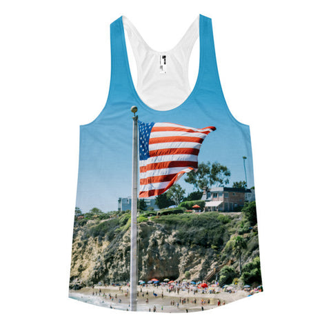 Betty White Racerback Tank