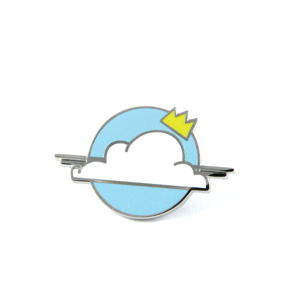 julien solomita x free radicals lapel pin cloud crown nimbus