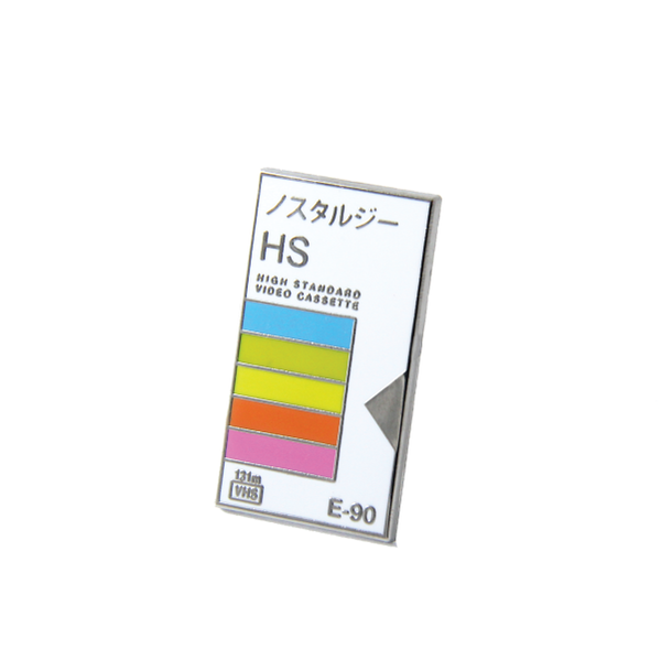 Free radicals VHS japanese lapel pin