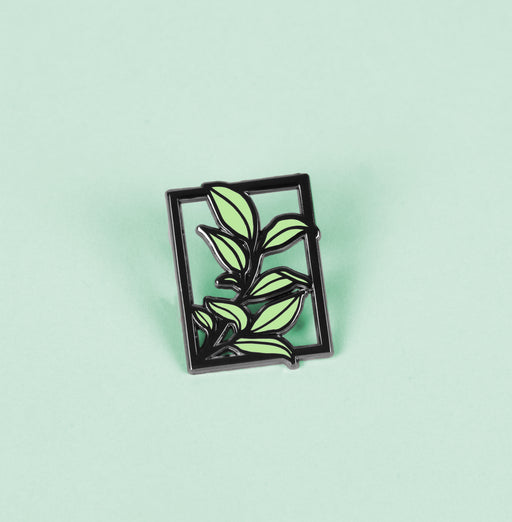 Framed Plant pin