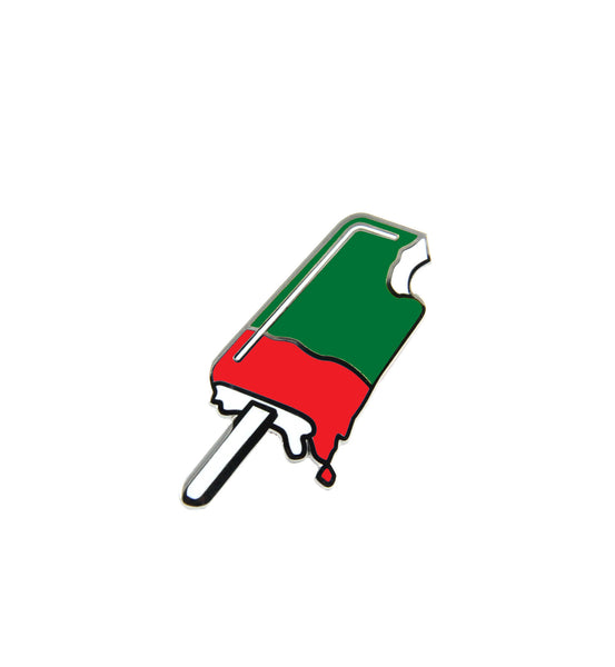 julien solomita x free radicals jolly holiday popsicle pin