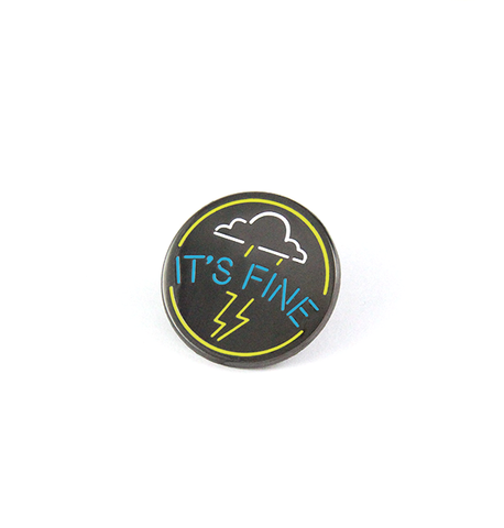It's Fine Cloud pin [DISCONTINUED]
