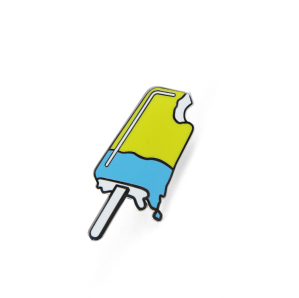 free radicals julien solomita popsicle blue yellow pin