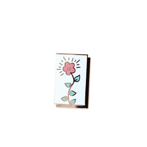 Blooming Flower Panel pin