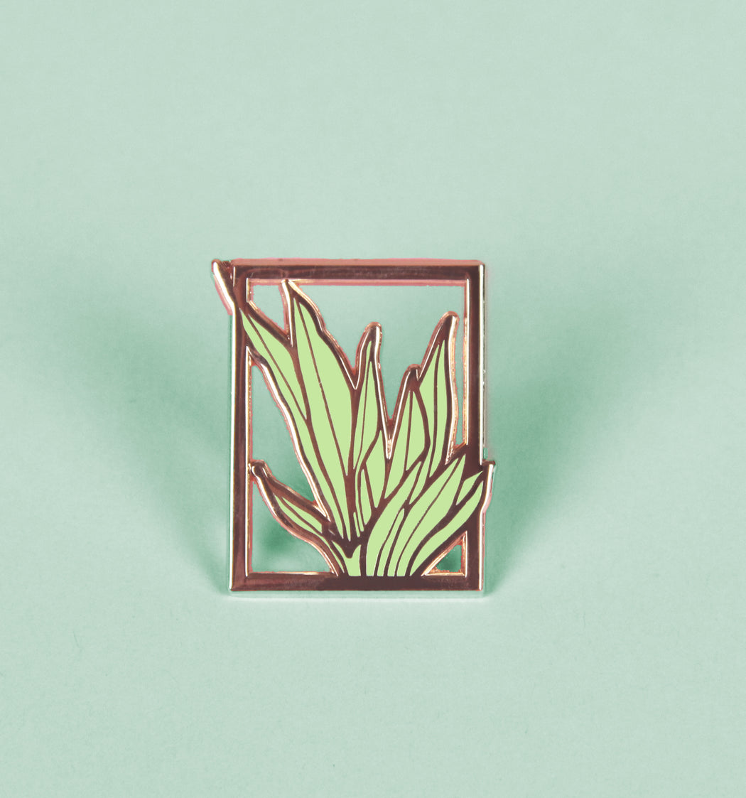 Framed Plant v2 pin