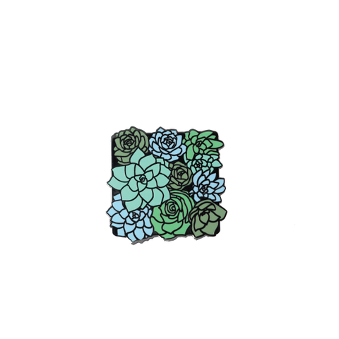 Succulents pin