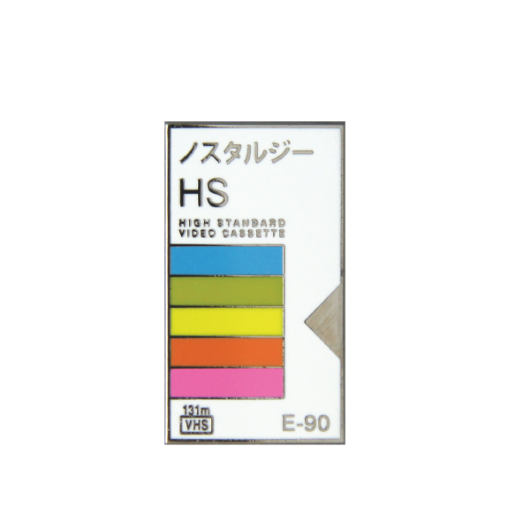 japanese VHS video tape packaging Polaroid lapel pin