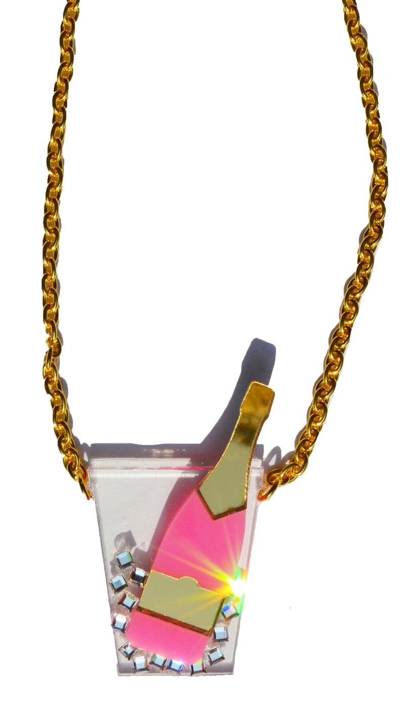 Mini Champagne Necklace