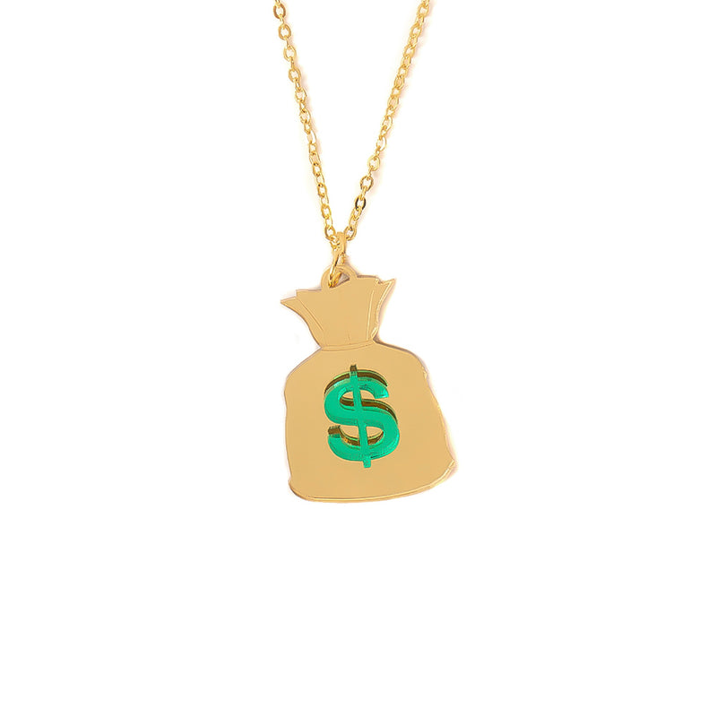 Money Bag Necklace