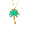 Palm Tree Necklace