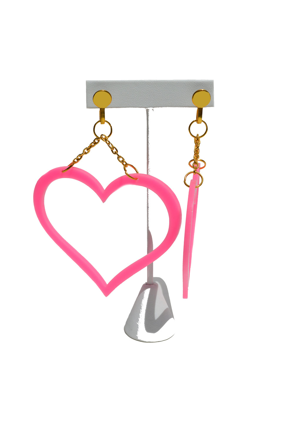 Heart Statement Earrings