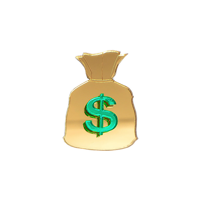 Money Bag Pin